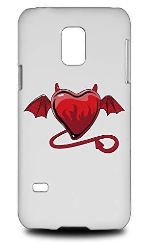 evil love heart hard phone