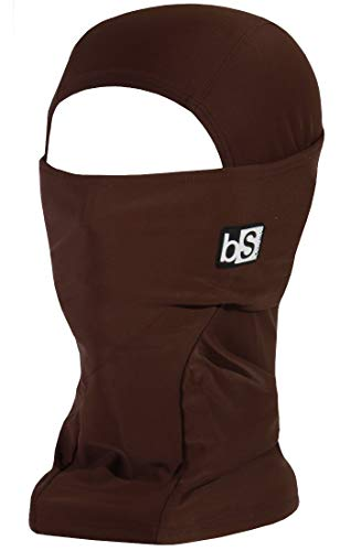 BlackStrap Balaclava Hood, Chocolate, One Size