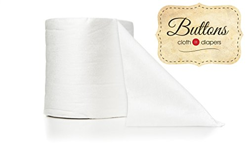 Buttons Disposable Bamboo Diaper Liners (100 Count)
