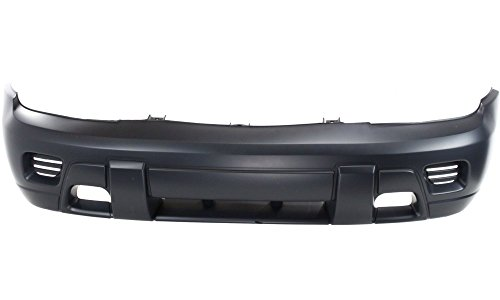 New Evan-Fischer EVA17872019571 Front BUMPER COVER Primed Direct Fit OE REPLACEMENT for 2002-2009 Chevrolet Trailblazer 2002-2006 Chevrolet Trailblazer EXTReplaces Partslink GM1000640 (Bumper 2002)
