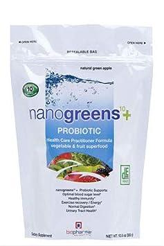 Amazon.com: nanogreens + Probiotic manzana verde: Health ...