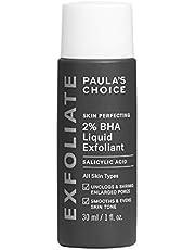 Paula's Choice Skin Perfecting 2% BHA Liquid Exfoliant - Exfolieert het Gezicht met Salicylzuur - gaat Puistjes, Grove Poriën & Mee-eters tegen - Gecombineerde, Vette & Acne Huid - 30 ml