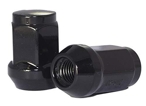 M12x1.5, Chrome Hex Wheel Lug Nut 3//4 Set of 20 Lug Nuts Closed End Bulge Acorn Lug Nut Style 1.38 Long Cone Seat 19mm