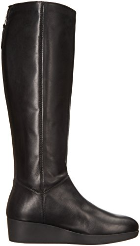 ... Johnston & Murphy Womens Darcy Regn Boot Sort Skinn