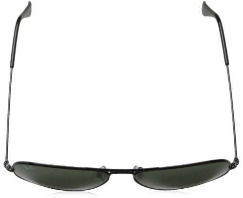 Ray-Ban Men\'s Aviator Large Metal Aviator Sunglasses, Black (frame ...