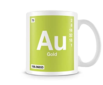 Periodic table of elements 79 au gold symbol mug amazon periodic table of elements 79 au gold symbol mug urtaz Gallery