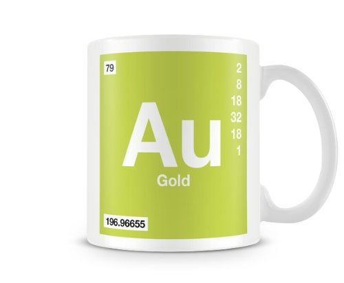 Periodic table of elements 79 au gold symbol mug amazon periodic table of elements 79 au gold symbol mug urtaz