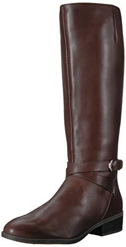 Lauren Ralph Lauren Women's MARIBELLA Fashion Boot, Dark Brown, 9 B US