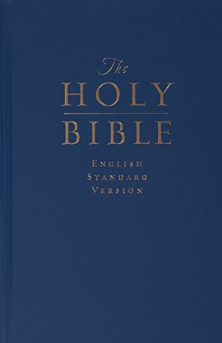 The Holy Bible: English Standard Version (Pew and Worship Bible, Navy Blue)