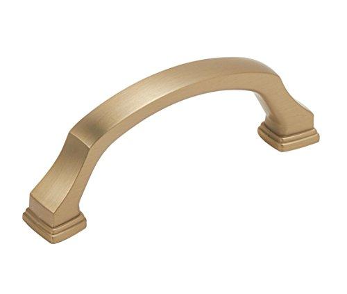 Amerock BP55343BBZ Revitalize Cabinet Pulls, 3 in (76 mm) Center-to-Center, Golden ()