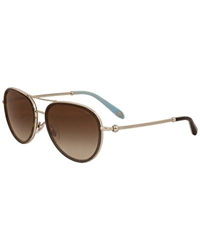 Tiffany Womens & Co. Women's Tf3059 55Mm - Aviator Sunglasses Tiffany