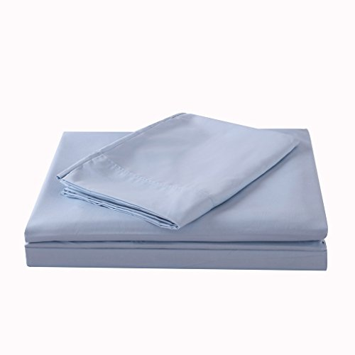 1600 series supper soft sheet set Queen Light blue color (Series 1600)
