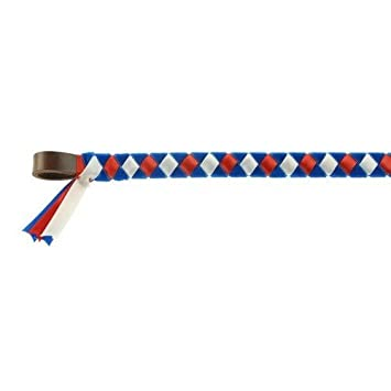 ShowQuest Leather Browband Epson (Cob) (Royal/Red/White) UTTL785_2