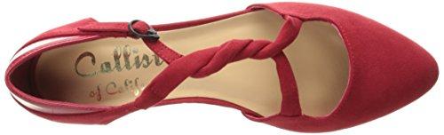 Suede Women's Red Ballet Sorcha Callisto Flat CdY4XwOnOq