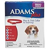 3 PACK ADAMS PLUS FLEA and TICK COLLAR, Size: SMALL (Catalog Category: Dog:FLEA AND TICK), My Pet Supplies