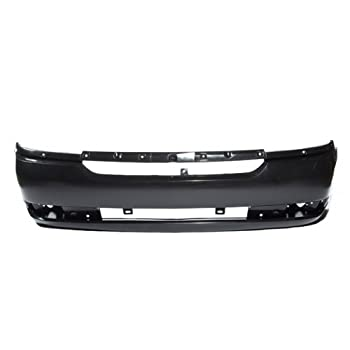 CarPartsDepot, Front Bumper Facial Cover Primed Black Plastic, 352-15616-10-PM GM1000711 19120531