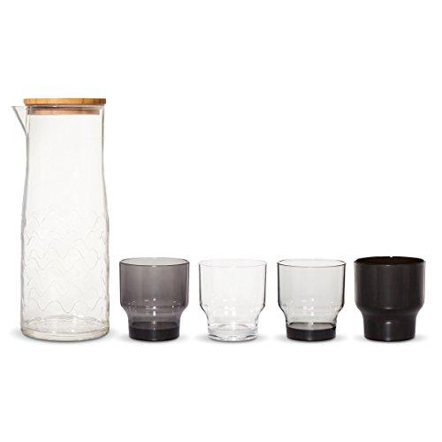 marimekko-for-target-lokki-carafe-cups-drinkware-5-piece-patio-set-black