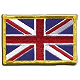 Écusson brodé Flag Patch Royaume-Uni - 8 x 6 cm