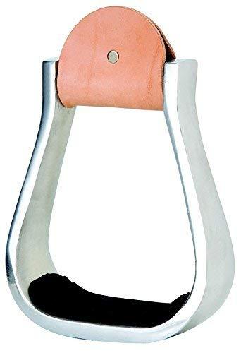 Weaver Leather Weaver Leather Aluminum Stirrups, Barrel 30-3134, Aluminum, 5 Width, 3 Neck