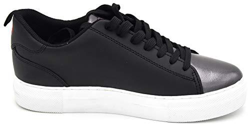 Nero Sneaker Libero Scarpa 79a00234 Tempo Jeans Donna Art Black Casual Trussardi ZTntzqxwY