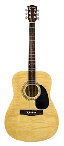 Glen Burton GA101BCO-NT Dreadnaught Acoustic Guitar with Accessories, (Glen Burton Natural)