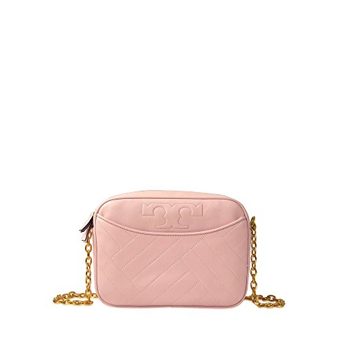 Pink Burch Tory Alexa Leather Quartz Camera Bag Dark v7dYdx5qnr