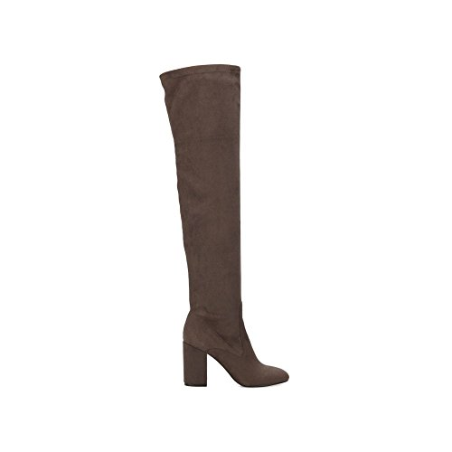 New York High Heels (Kenneth Cole New York Women's Carah Knee High Tall Stretch Engineer Boot, Asphault, 8 M US)