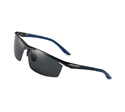 libre FlowerKui protección marco sol de metal marco de Azul de pesca UV400 metal de de la del aire Gafas gafas al del de del sol rwrqC6xU8