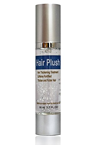 Ultrax Labs Hair Plush Lush Caffeine Hair Loss Hair Growth Thickening Treatment Formula Serum