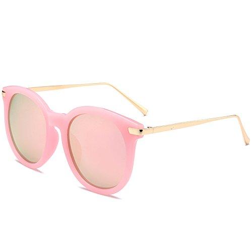 Blue La Pink Clásicos De De De BAIBB KJCW Nuevas Tendencia Populares Unisex Gafas Sol Retros Moda Sol Gafas De Uwn8Tafq