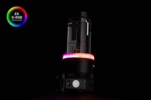 EKWB EK-Quantum Kinetic TBE 200 D5 PWM Pump-Reservoir Combo, D-RGB, Acetal