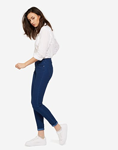 Blu rinsewash Wrangler Rinsewash Donna Jeans Skinny 23 XXIwFq