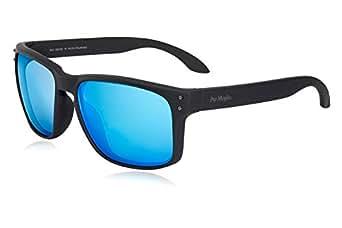 Polarized Sunglasses for Men 100% UV Protection Wayfarer Sun Glasses for Driving Men Clear Vision - Rectangular TR90 Frames