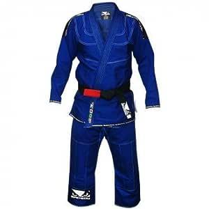 Bad Boy MMA Los Niños Azul Judo Traje - 00/120cm: Amazon.es ...