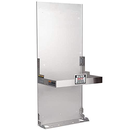 Bunn 12542.0005 Side Wall Mount Bracket for H5E H5X Element Hot Water Dispensers