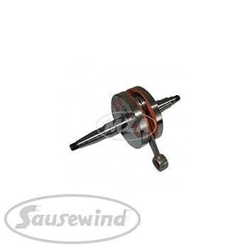 KR51//2 SR50 S53 F-3834 Kurbelwelle mit Nadellager f/ür Simson S51 Schwalbe