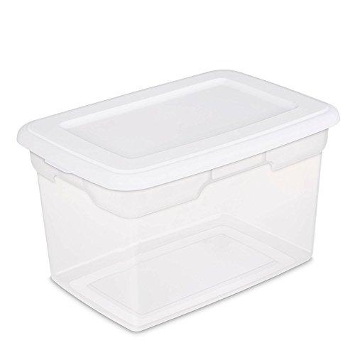 Sterilite Quart Storage Box White