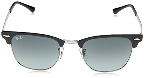 Soleil Ray BLACK Lunettes unisexe CLUBMASTER 3716 LIGHT METAL GREY RB Ban SILVER de SHADED 5qEEwfg