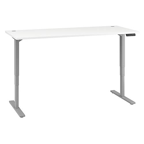 Move-80-Series-by-Bush-Business-Furniture-72W-x-30D-Height-Adjustable-Standing-Desk-in-White-with-Cool-Gray-Metallic-Base