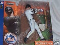 (McFarlane Toys MLB Sports Picks Series 1 Action Figure Mike Piazza (New York Mets) White Jersey Uniform Chase Alternate Variant)