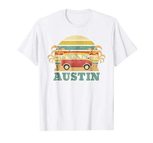 Austin Texas T-Shirt Retro Vintage Shirt Gift Men Women -