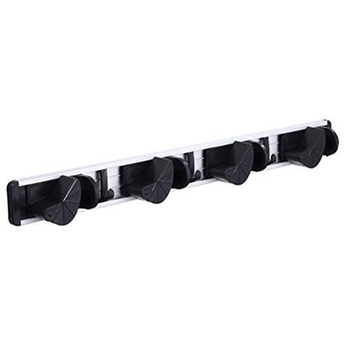 Broom Storage Rack, Multi-Function Punch-Free Rack, Broom Rack Hook