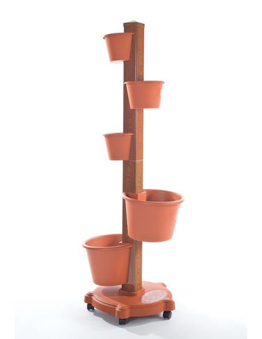 My Garden Post 5 Planter Vertical Gardening System Finish, Terracotta by My Garden Post