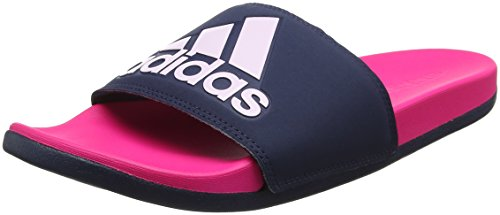 Adidas Adilette Cf + Logo Con Infradito Sintetico Rosa Shock Shock Rosa Shocking