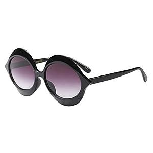 Limsea Hot Sale! Fashion Vintage Irregular Big Frame Sunglasses Retro Eyewear Fashion Ladies Man