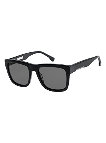 Quiksilver Mens Nashville - Sunglasses For Men Sunglasses Black One ()