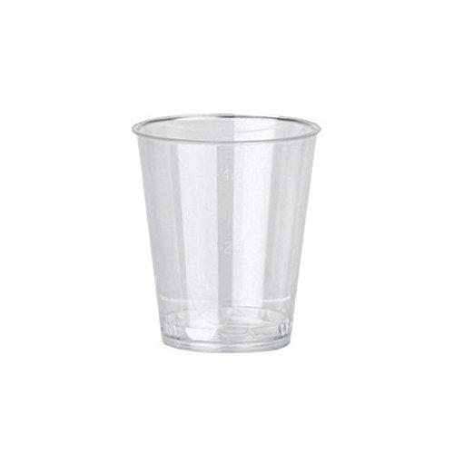 Dispo 3oz / 20/40ml Shot / Sampling Glass 50pk cooksmill