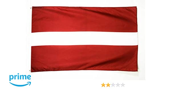 LATVIA LATVIAN FLAG WITH BRASS GROMMETS NEW 3x5 ft better quality usa seller