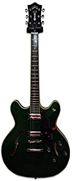 Guild Starfire IV ST Maple in Emerald Green - Guitarra eléctrica (incluye estuche): Amazon.es: Instrumentos musicales