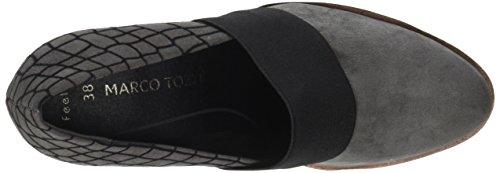 Grey Tozzi Dkgrey Femme Gris 24701 Comb Bottes Comb Marco wqg7I7